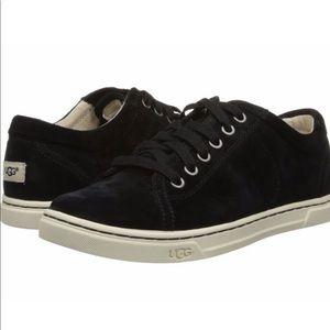 UGG | Black Tomi Suede Water Resistant Sneaker 8.5
